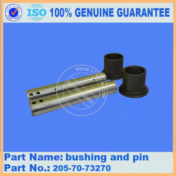 Komatsu spare parts PC200-7 bushing and pin 205-70-73270