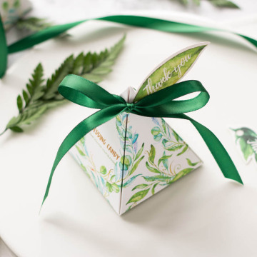 Wedding candy packaging paper box