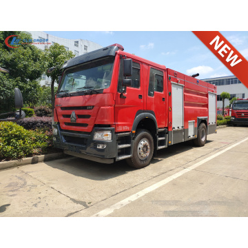 Brand New HOWO T5G 330HP Water Fire Trucks