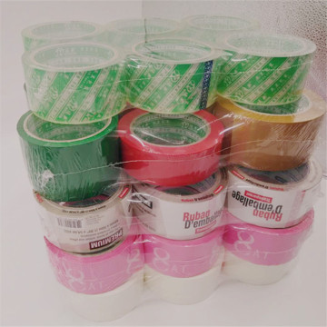 Color multisize hand packing tape for home use