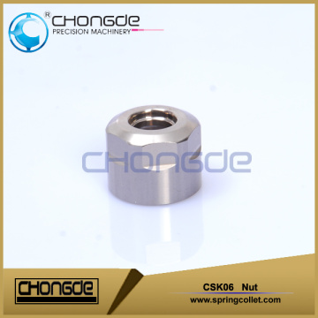 High precison CSK Collet Chuck nut