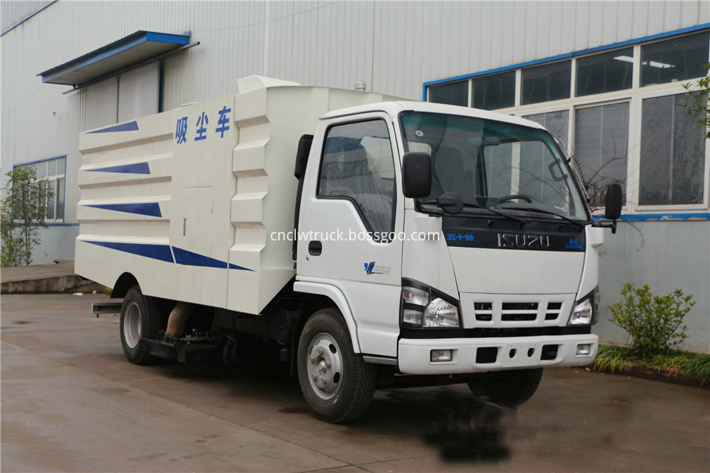 isuzu sweeper truck 2