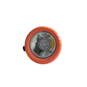 Rechargeable LED mining headlight with laser