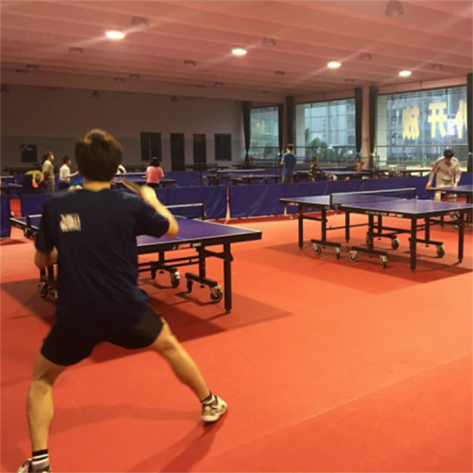 ITTF approved indoor anti-skid table tennis court flooring