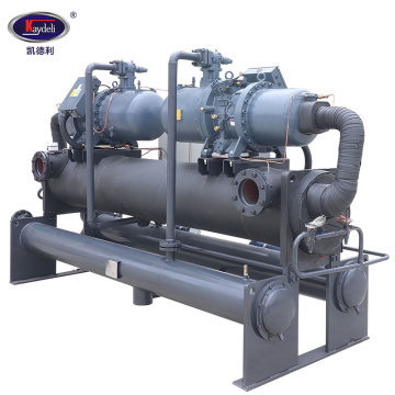 80HP  water cooled twin screw chiller