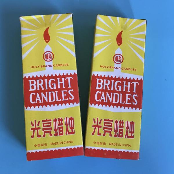 west africa selling bright holy candle bougies