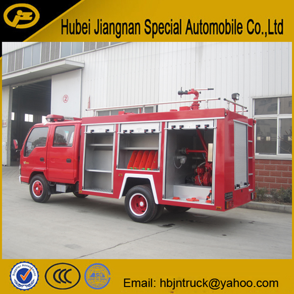 Isuzu fire fighting truck manufacturer