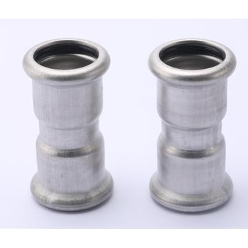 M Profile Stainless Steel Pipe Fitting Coupling