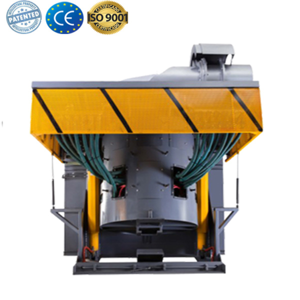 Industrial heat treatment electric foundry for aluminum