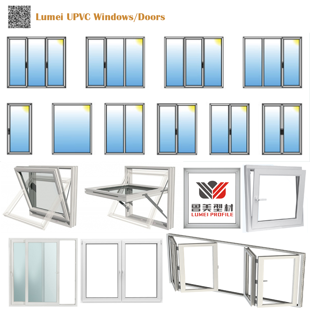 Lumei UPVC Windows Doors
