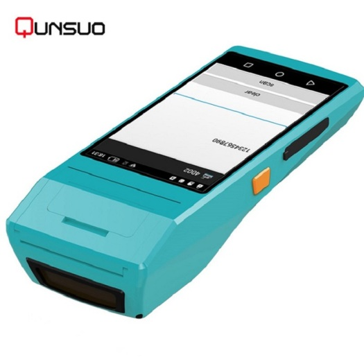 5.5 INCH handheld terminal with printer and scanner