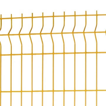 holland 3d curved powder coated wire mesh fence designs For Farm