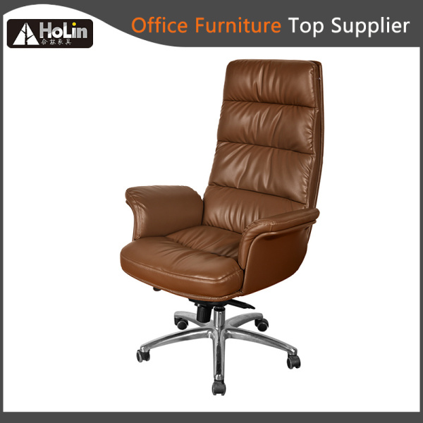 Modern Design Soft Cushion Synthetic Leather Office Chair