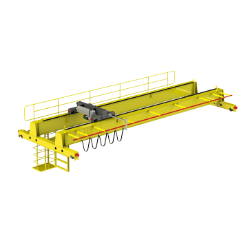 20ton Double Girder Electric Overhead Traveling Bridge Crane
