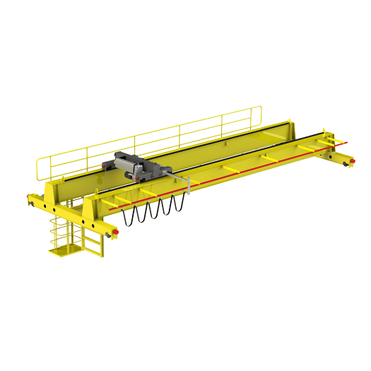 50ton Double Lifting Speed Double Girder Bridge Crane