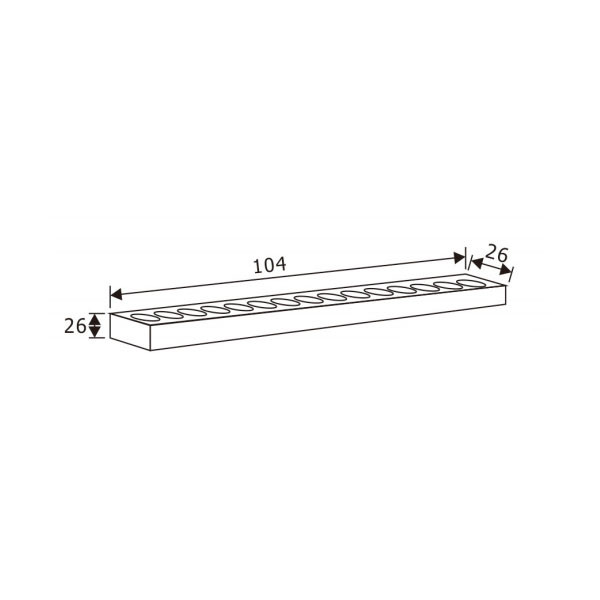 LED Wall Washer Track Lighting