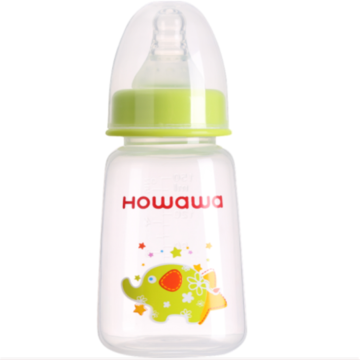120ml Milk Feeding Bottle PP Infant Nursing Bottle
