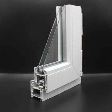 Casement Plastic uPVC Profile For Windows and Doors