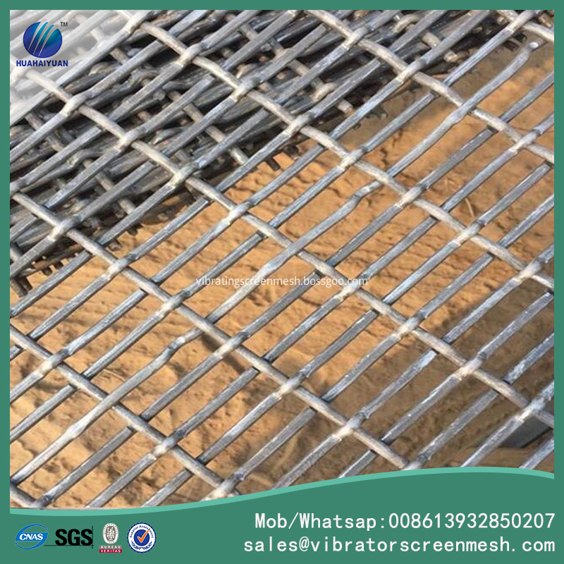 Slotted Flat Top Woven Wire Cloths
