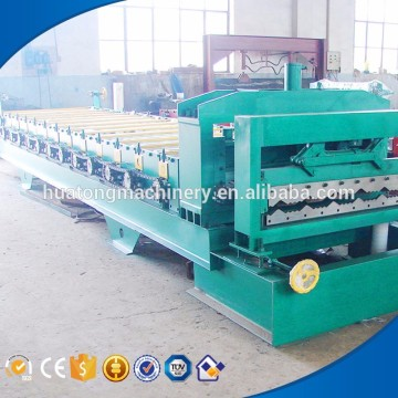 Canton fair sales arc glazed tile roofing machine made in china