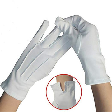 Uniform Gloves Marching Band White Parade Gloves