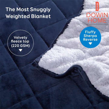 Dropshipping Sherpa Weighted Blanket