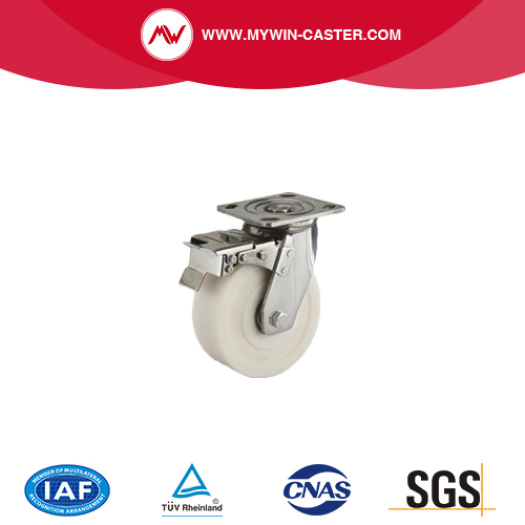 Heavy duty Stainless steel Caster with brake