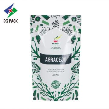 Food packaging pouch with zipper stand up pouch