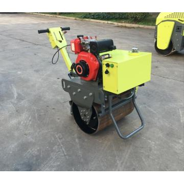 High efficiency hand push vibratory  road roller