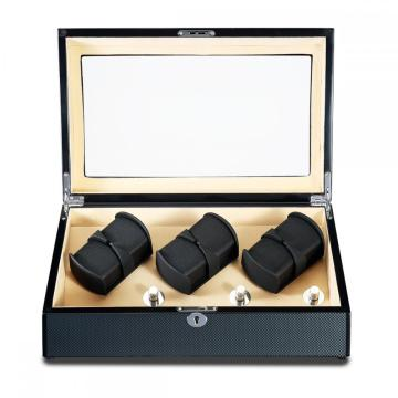 Triple Rotors Watch Winder For Display