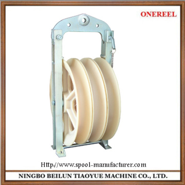 Nylon sheave block pulley
