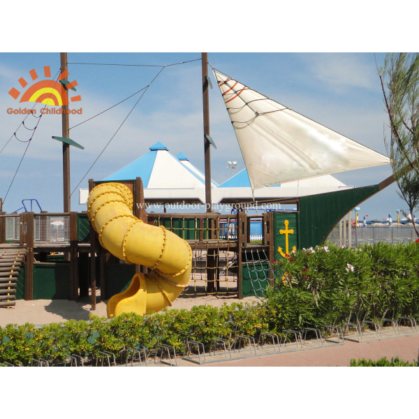Large Spiral Tube Slide For Kids