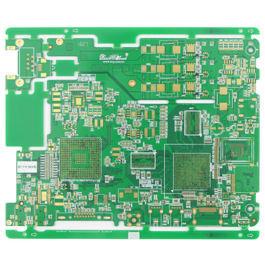 Two different boards in one panel multi-layer pcb