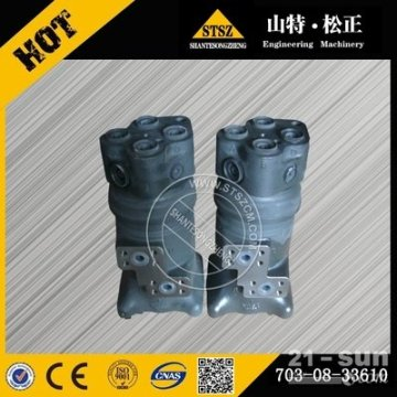 excavator parts PC400-7 swivel joint ass'y 703-08-33651