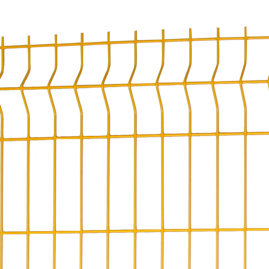 different types PVC Coated  Curved garden Fence