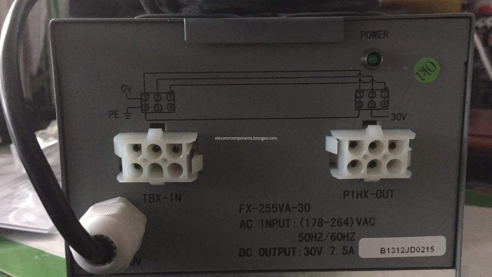 Relaying Power Supply for OTIS High Speed Elevators OEM Part#DAA621Z2-C1