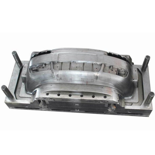 Automotive front and rear bumper injection mould