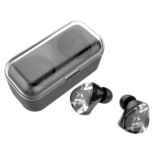 Quad Drivers HiFi  Bluetooth Earphones