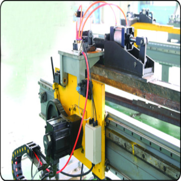 CNC angles channel and band  punching machine