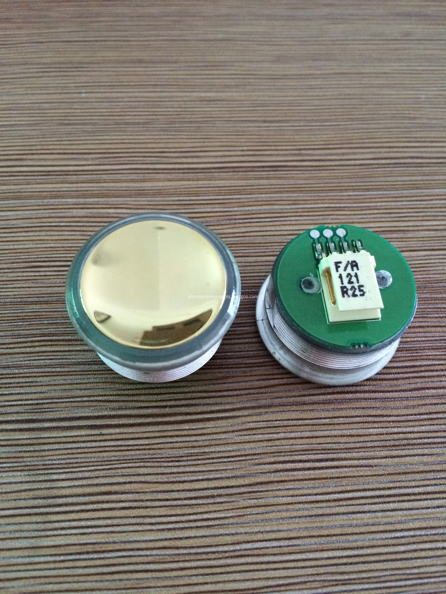 Golden Push Button FAA25090A121 for OTIS 2000 Elevators