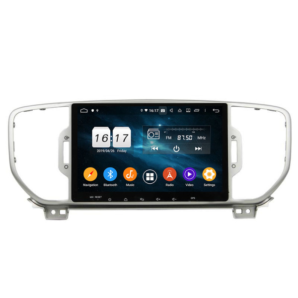Sportage 2016 car multimedia system android 9.0