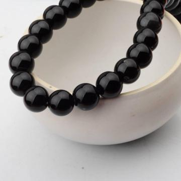 14MM Loose natural Black Onyx Agate Round Beads for Making jewelry
