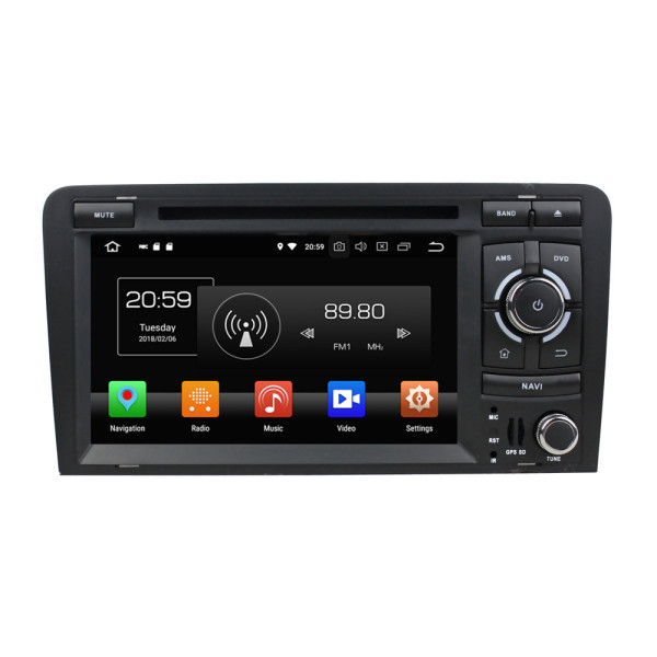 car radio head units for Audi A3 2003-2013
