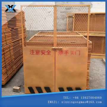 Engineering wellhead protective door elevator safety door
