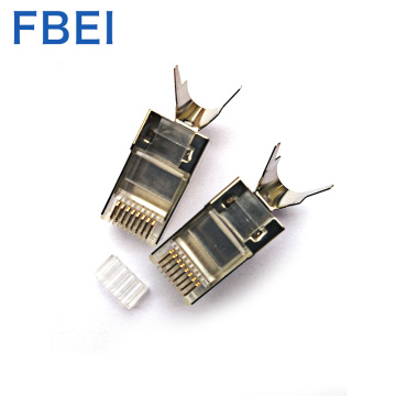 CAT7 STP connector Gold plating 50U