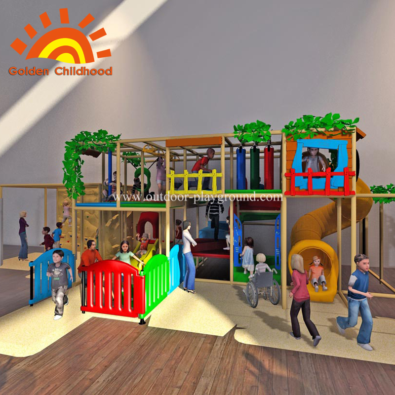 Indoor Playground Play Gym Climbing Structure