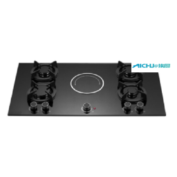 5 Burners Tempered Glass Cooktop