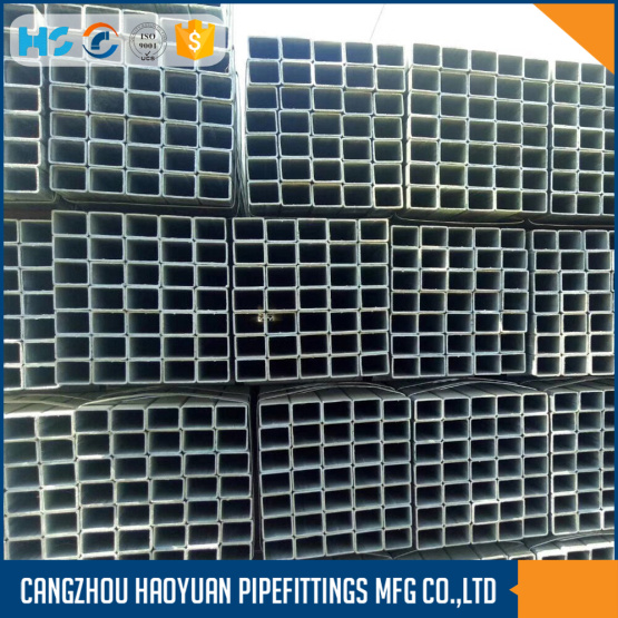 Galvanized Square Tube For Gas And Oil