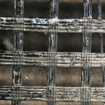 GlasGrid pavement reinforcement geogrids