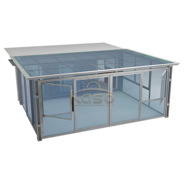 Design Cost Aluminum Glass 4 Season Sunroom Kit